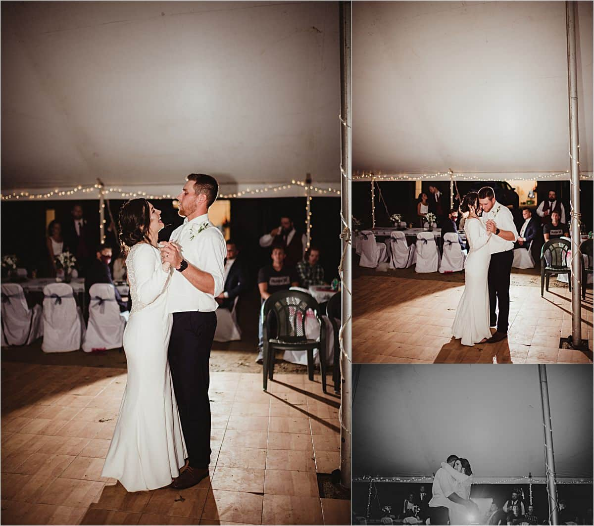 Private Residence Summer Wedding First Dance