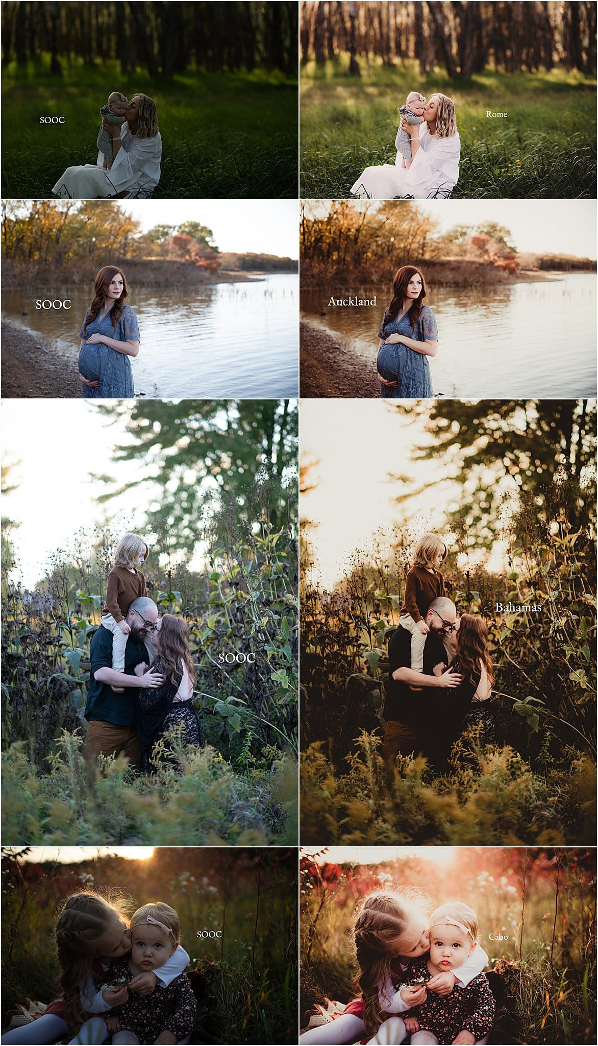 Twig & Olive Photography Before and After | Wanderlust Presets