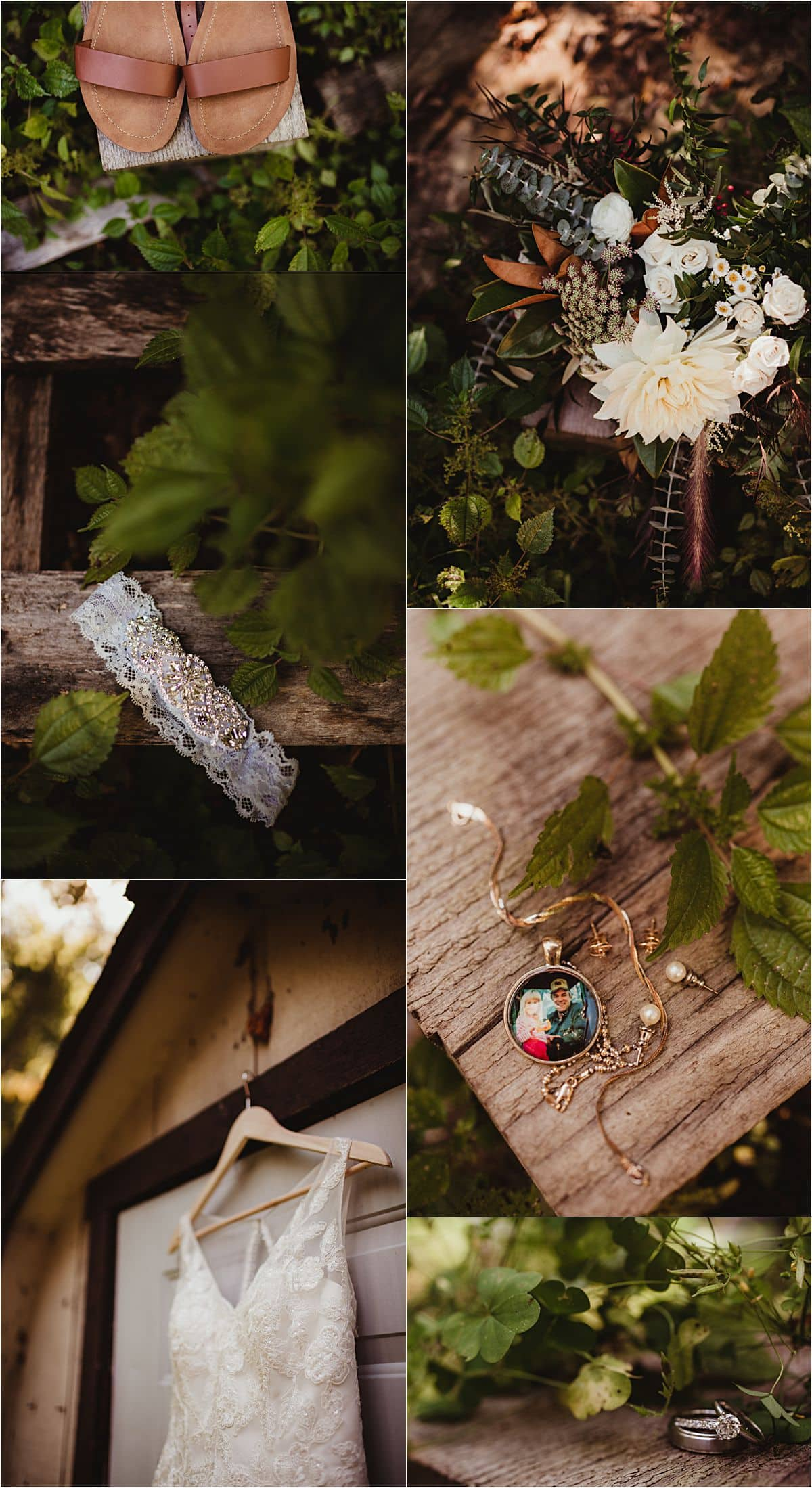 Intimate Fall Wedding Details