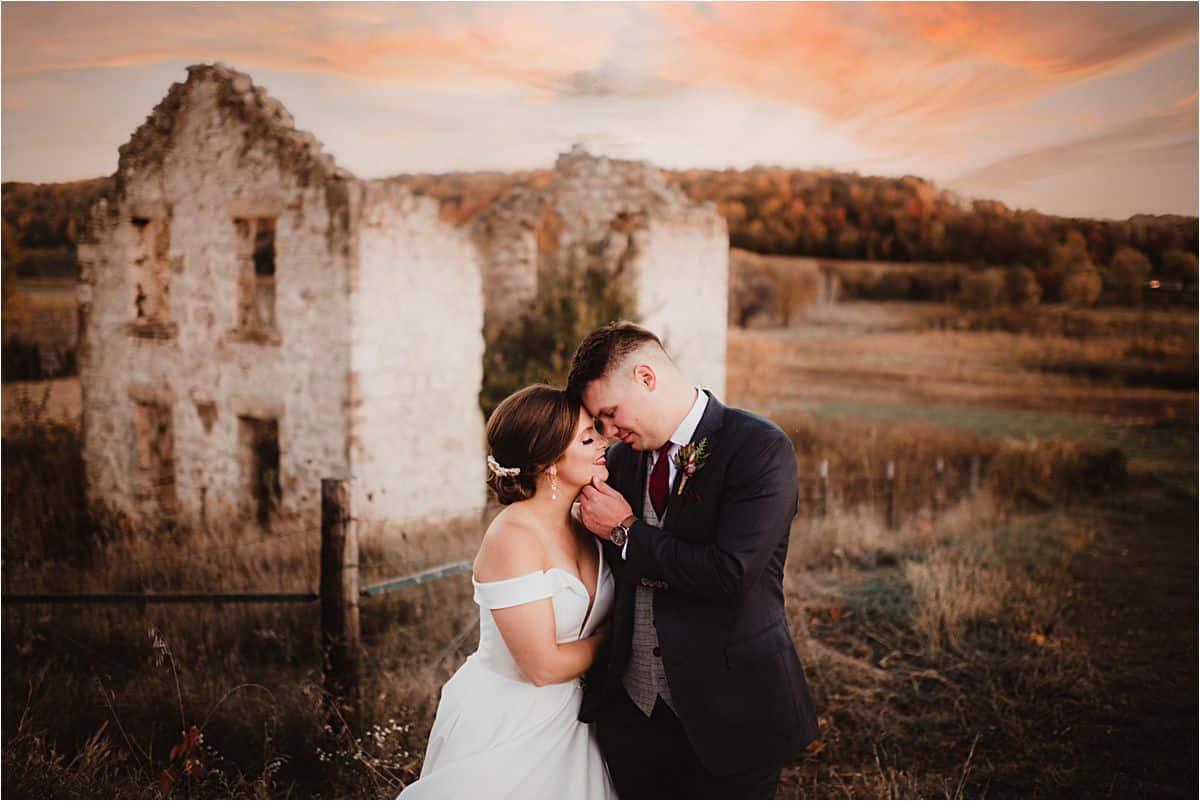 Bride Groom in Field