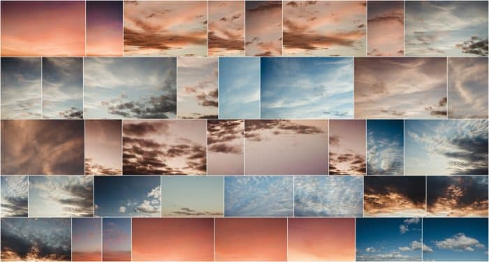 sky replacement overlays