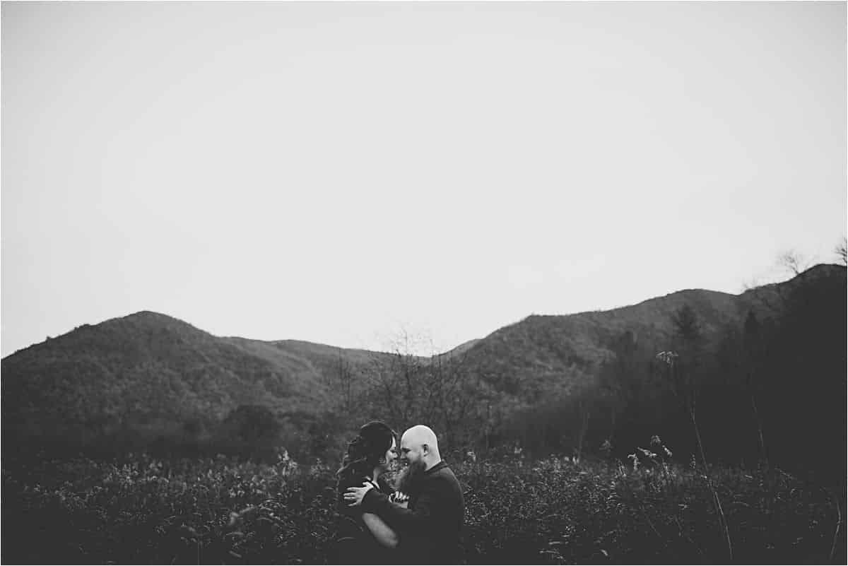 Black and White Image Couple