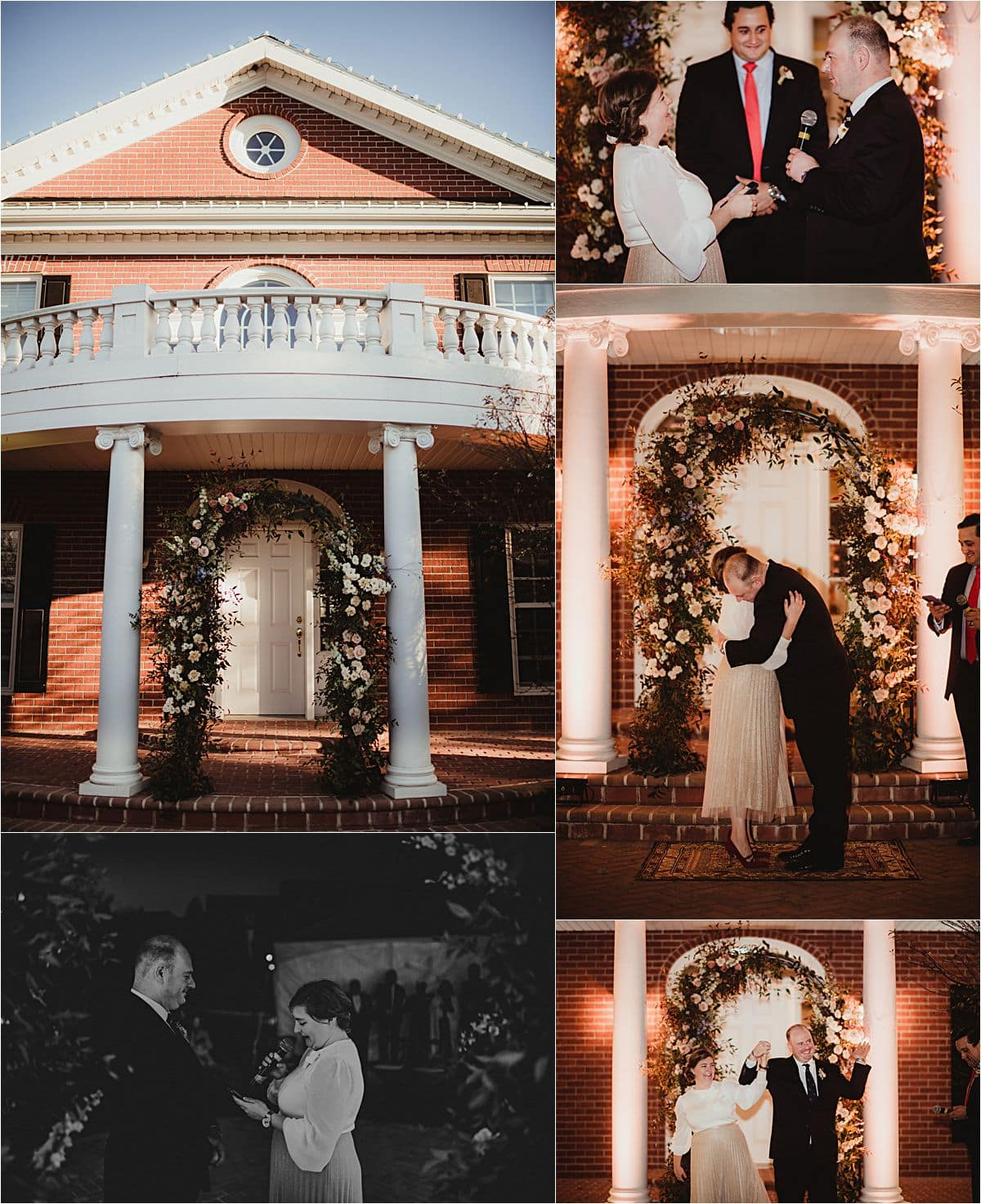 Private Residence Micro Wedding Ceremony