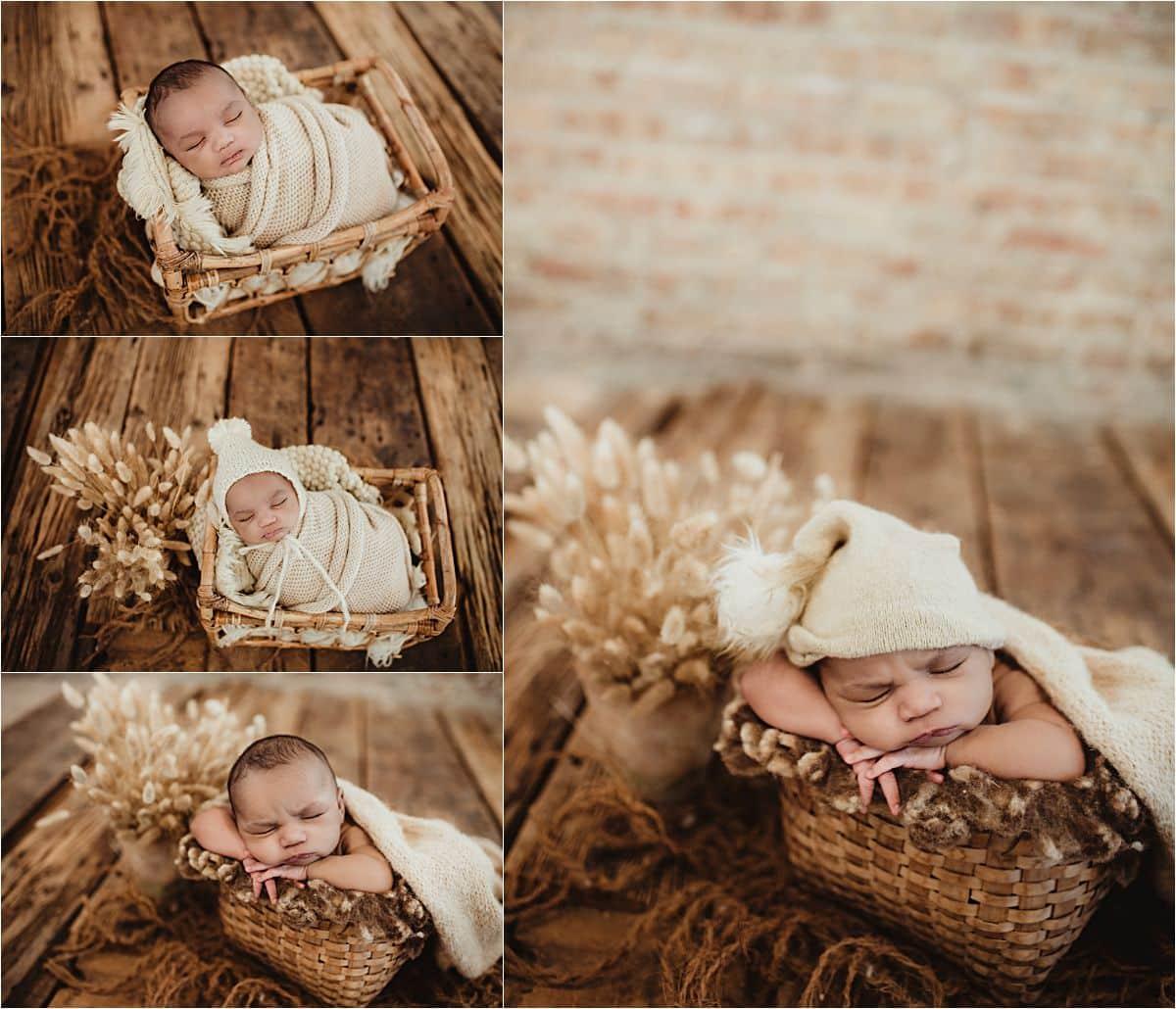 Collage Newborn in Neutrals