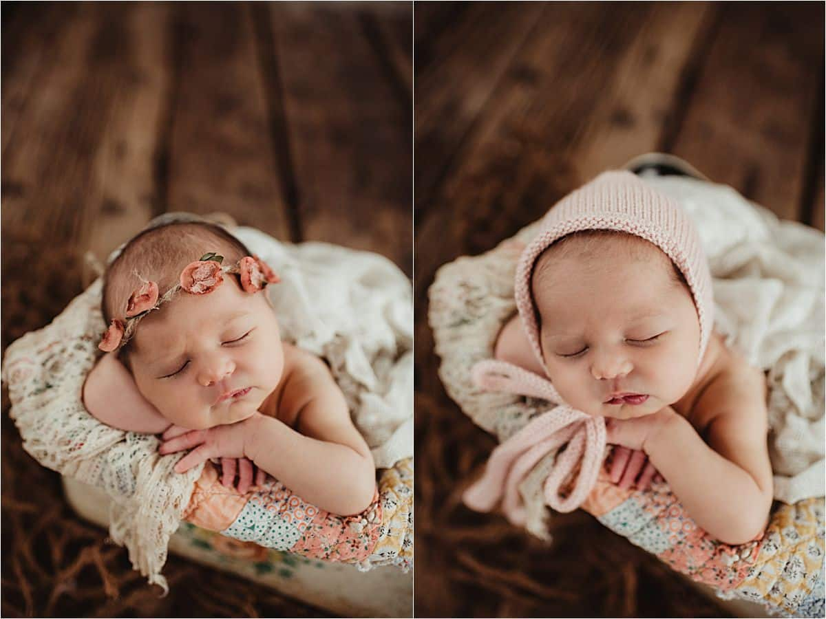 Close Ups Newborn Girl