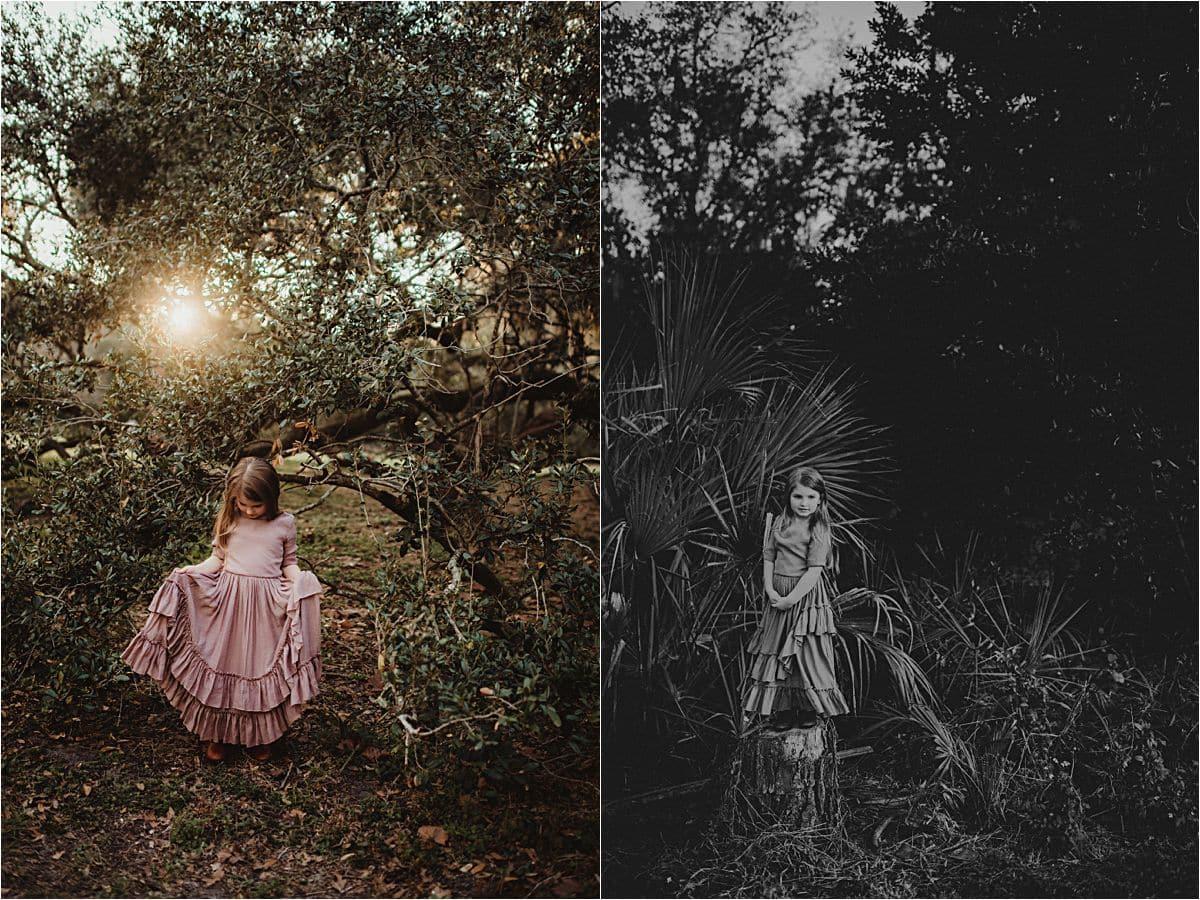 Little Girl in Greenery