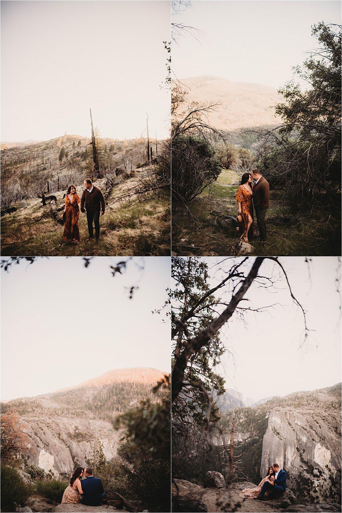 Far Away Portraits of Couple