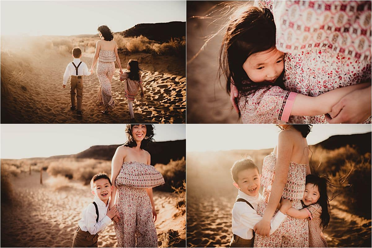 Kids with Mom