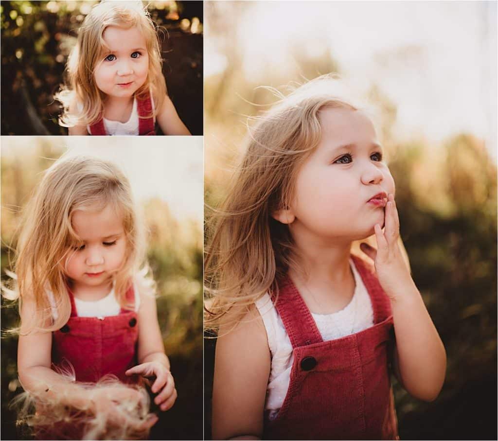 Close Ups Little Girl