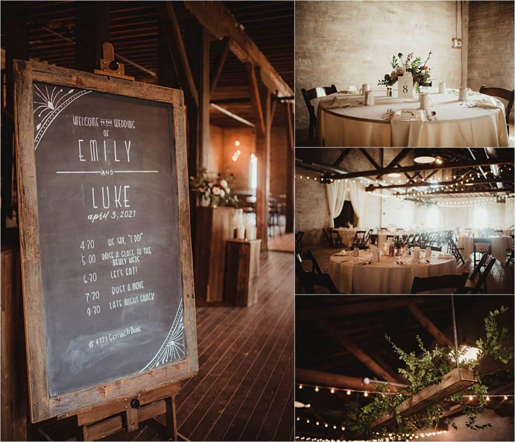 Romantic Spring Wedding Reception Details