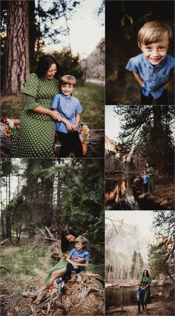 Mother Son Session Mama with Son in Nature