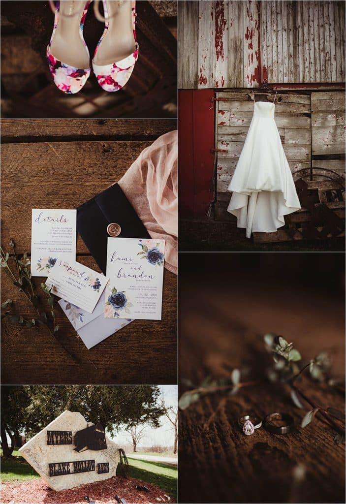 Rustic Chic Spring Wedding Wedding Details