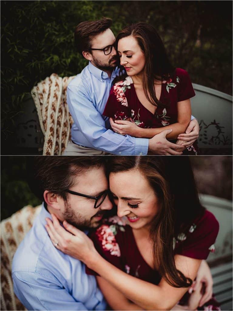 Engagement Photography Session Close Ups Couple