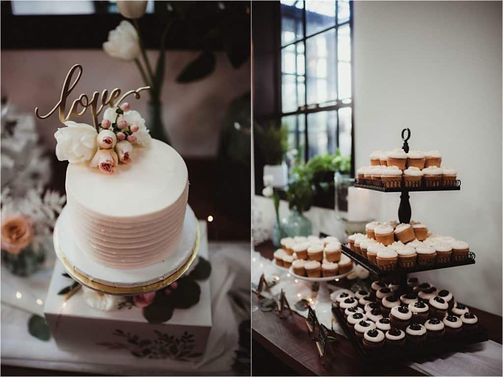 Industrial Chic Summer Wedding Cake