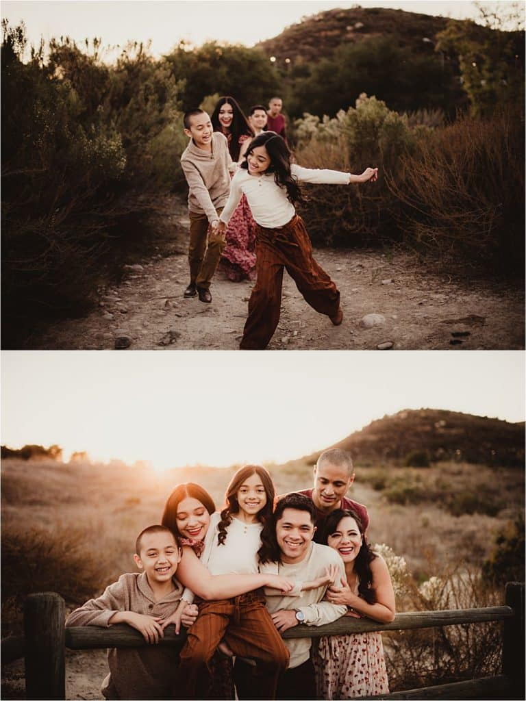 Family on Path