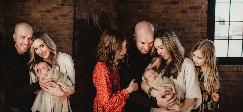 Family with Newborn