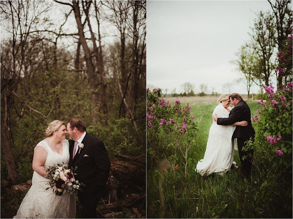 Bride Groom in Nature