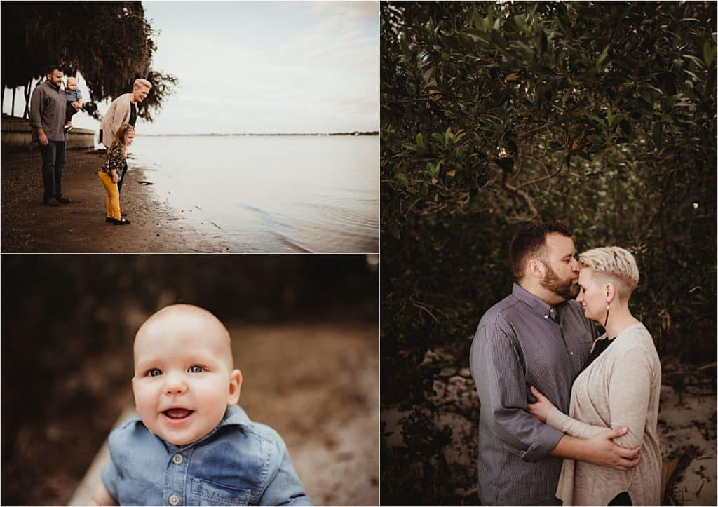 Bay View Family Session Family by Water