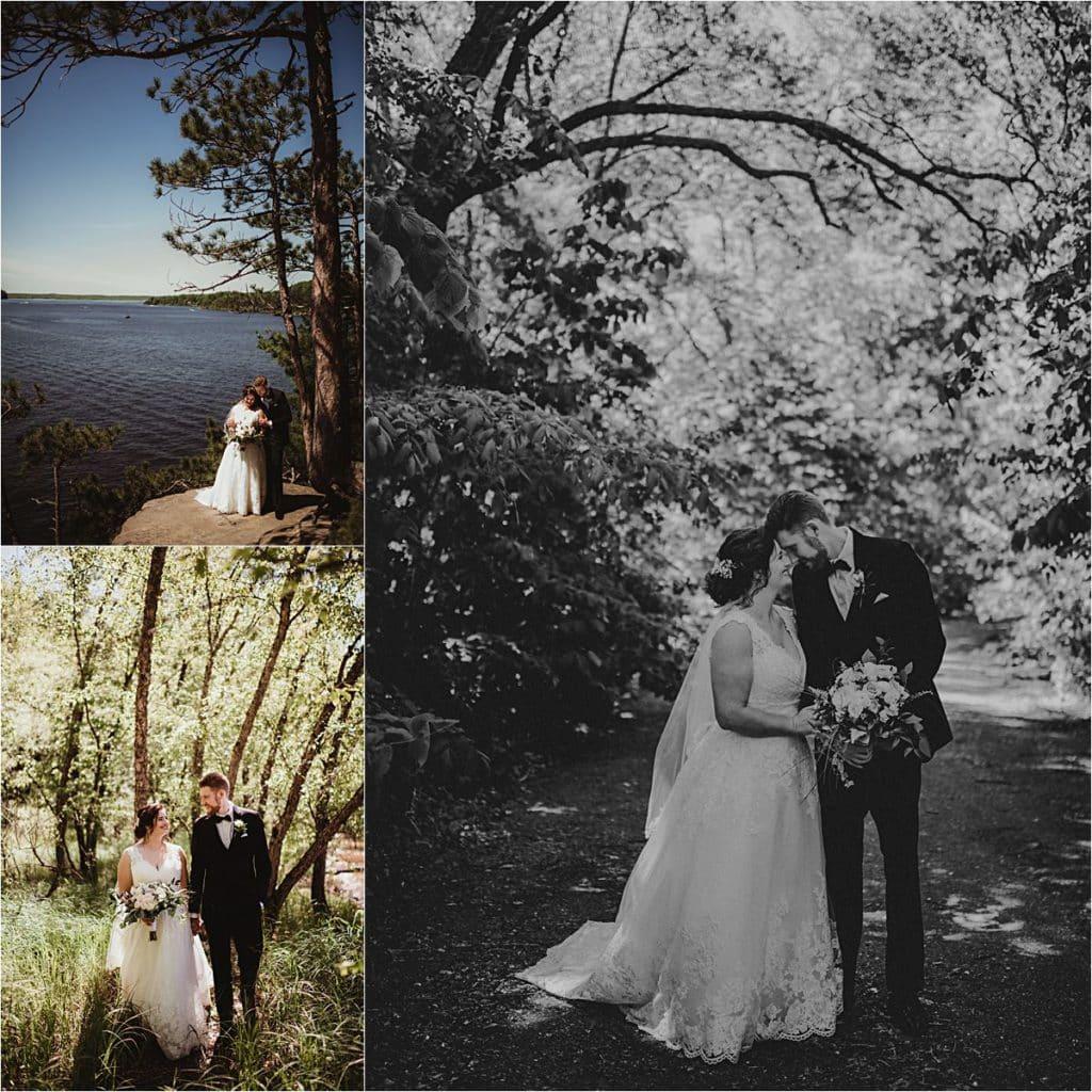 Collage Bride Groom