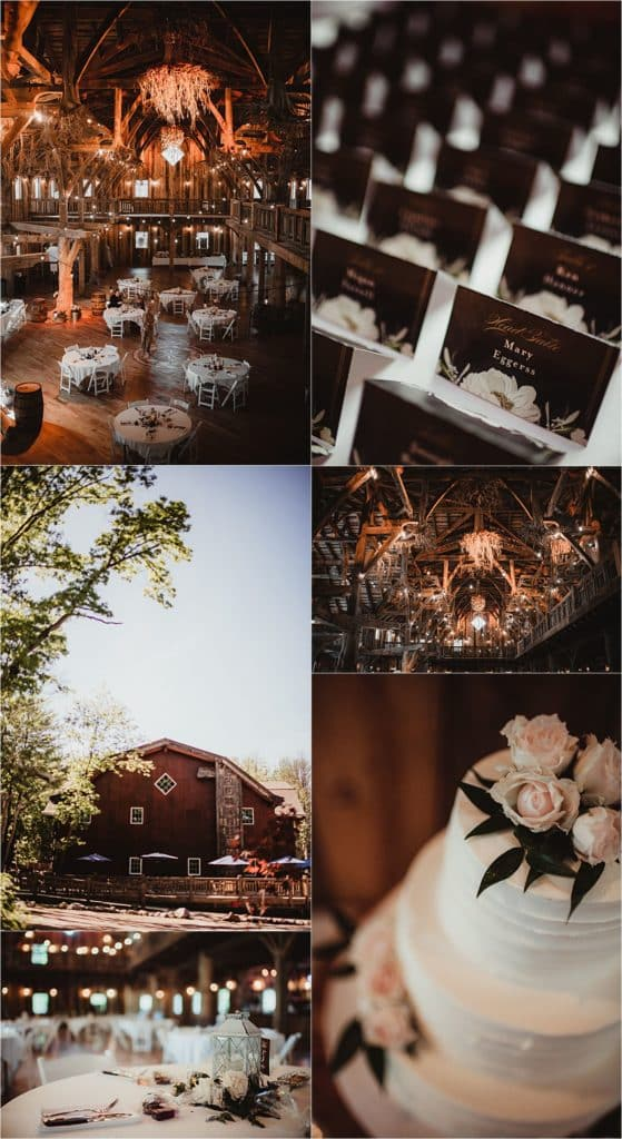 Elegant and Rustic Wedding Reception Details