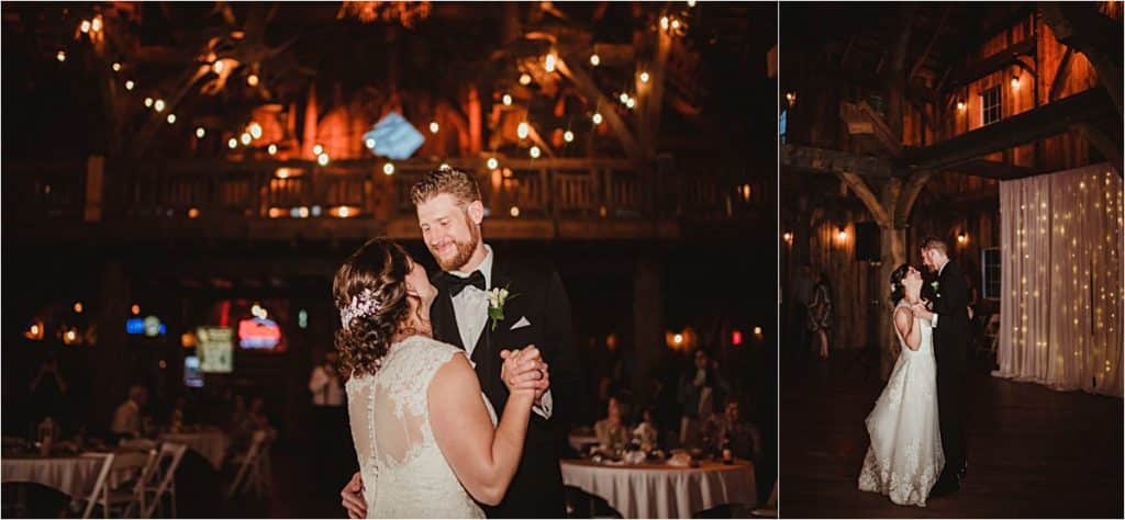 Elegant and Rustic Wedding First Dance