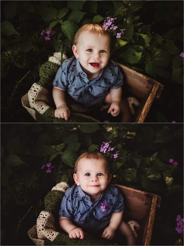 Baby Boy in Box