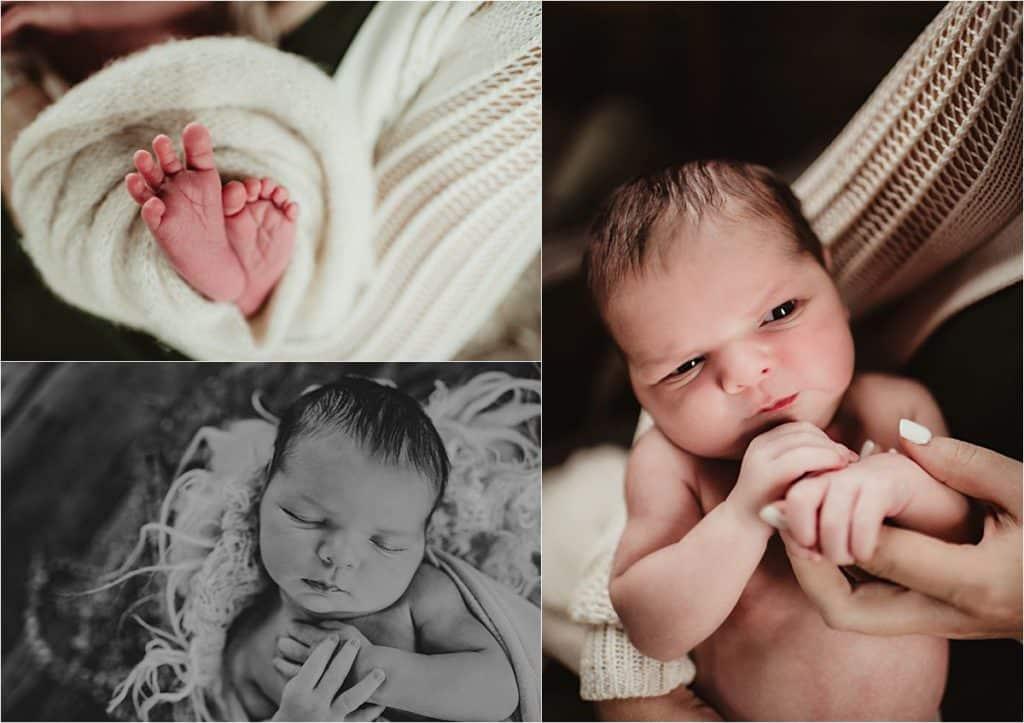 Close Ups Newborn Boy
