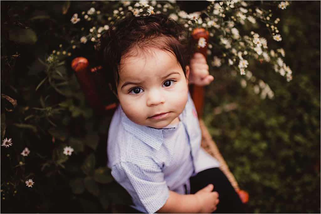 Close Up Baby Boy