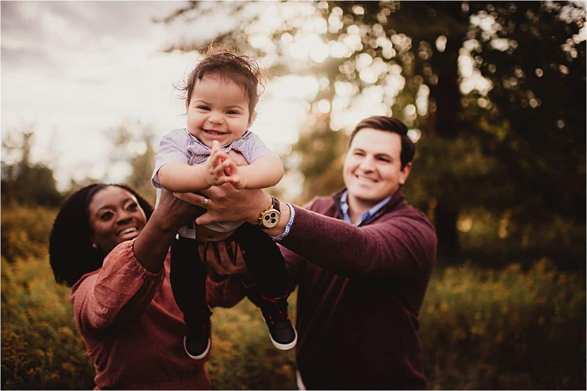 Parents with Baby Boy Smiling