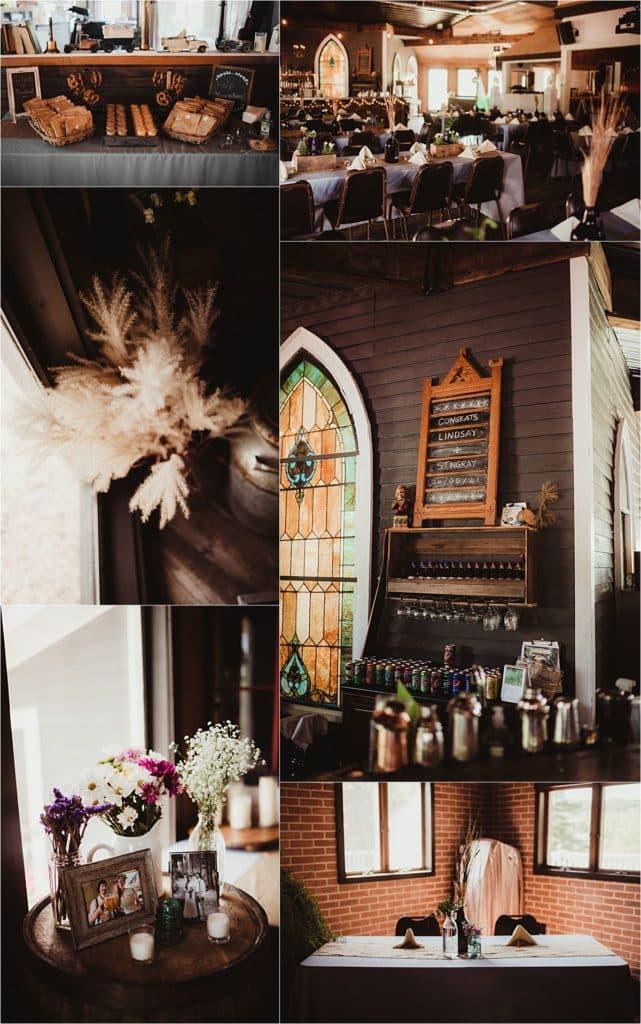 Summer Wedding Reception Venue Details