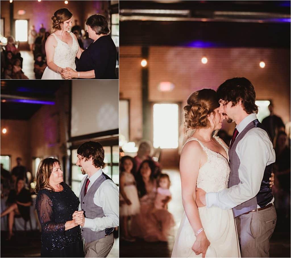 Summer Wedding Reception First Dances
