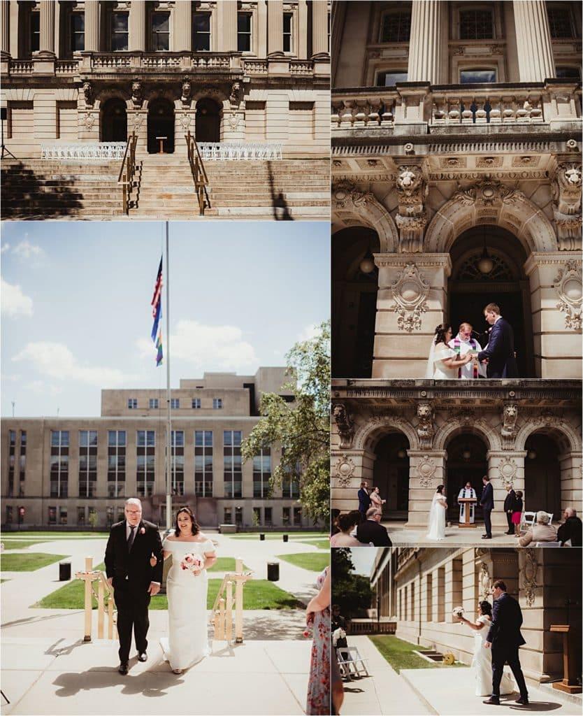 Elegant Outdoor Wedding Ceremony
