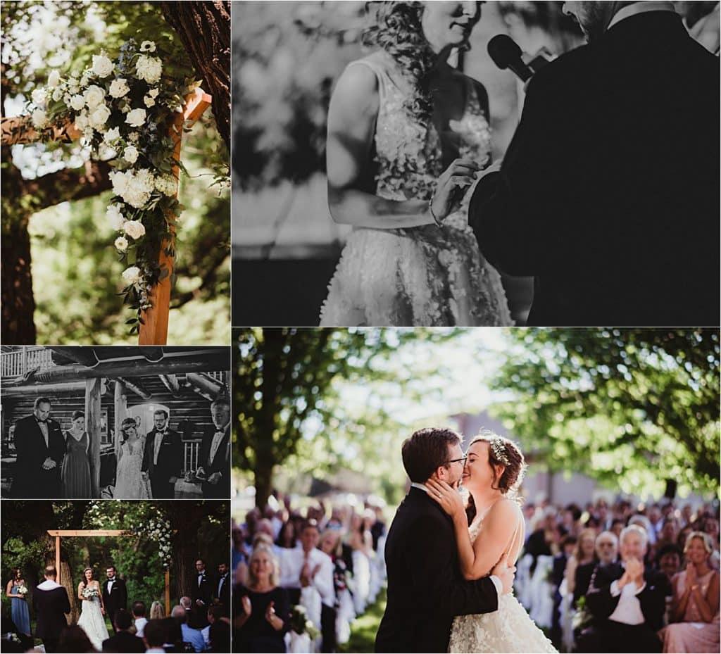 Spring Forest Wedding Ceremony