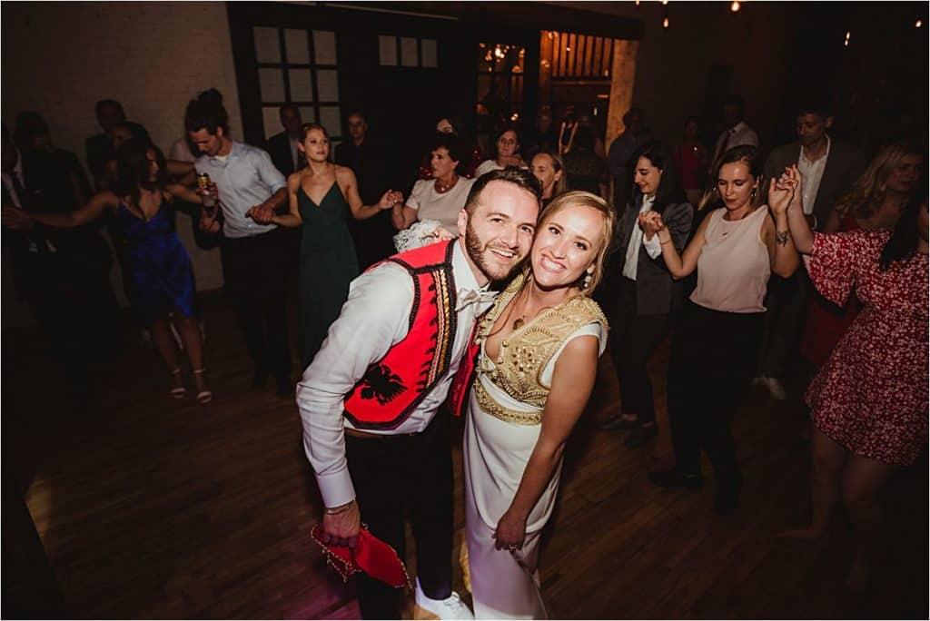 Bride Groom Reception Dance