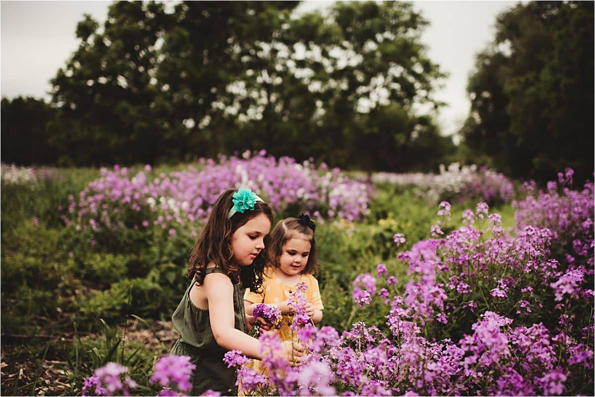 Sisters in Flowers
