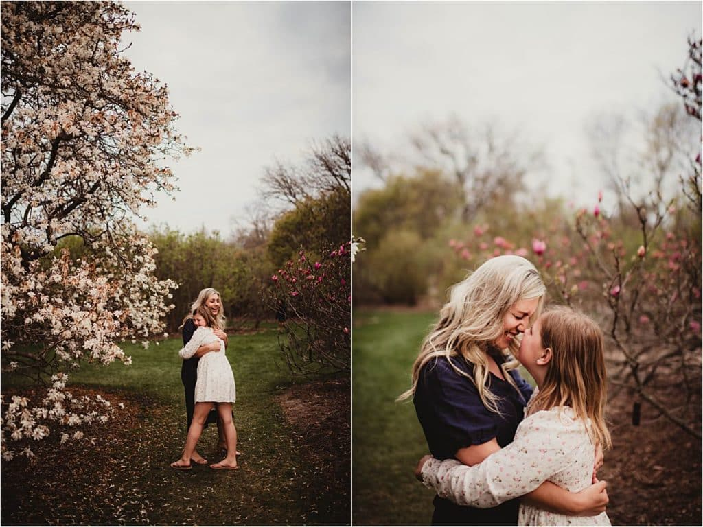 Magnolia Blooms Family Session