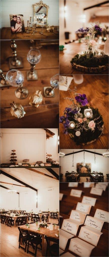 Rustic Chic Summer Wedding Reception Details