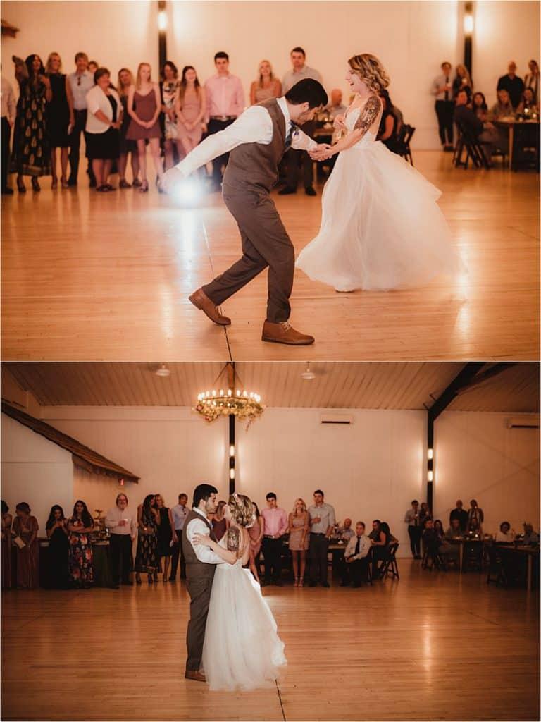 Rustic Chic Summer Wedding First Dance