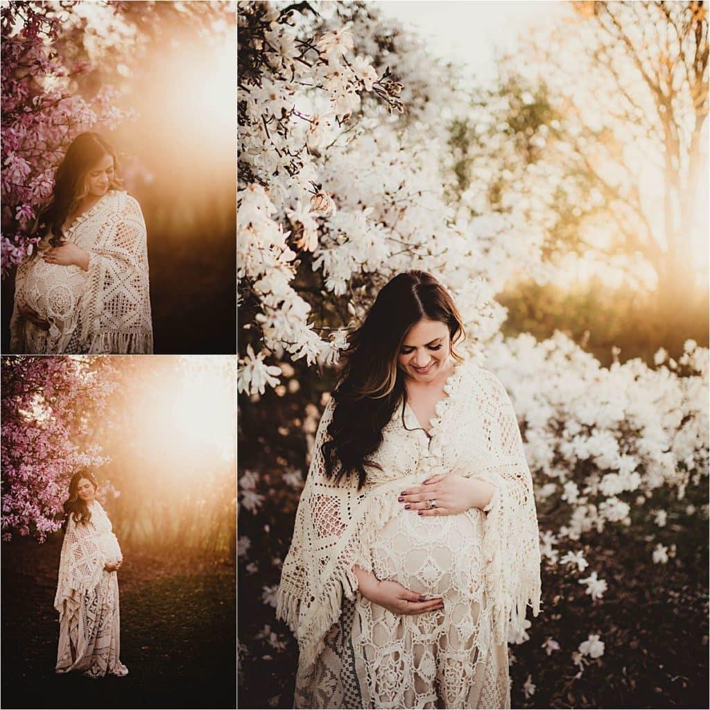 Spring Boho Maternity Session