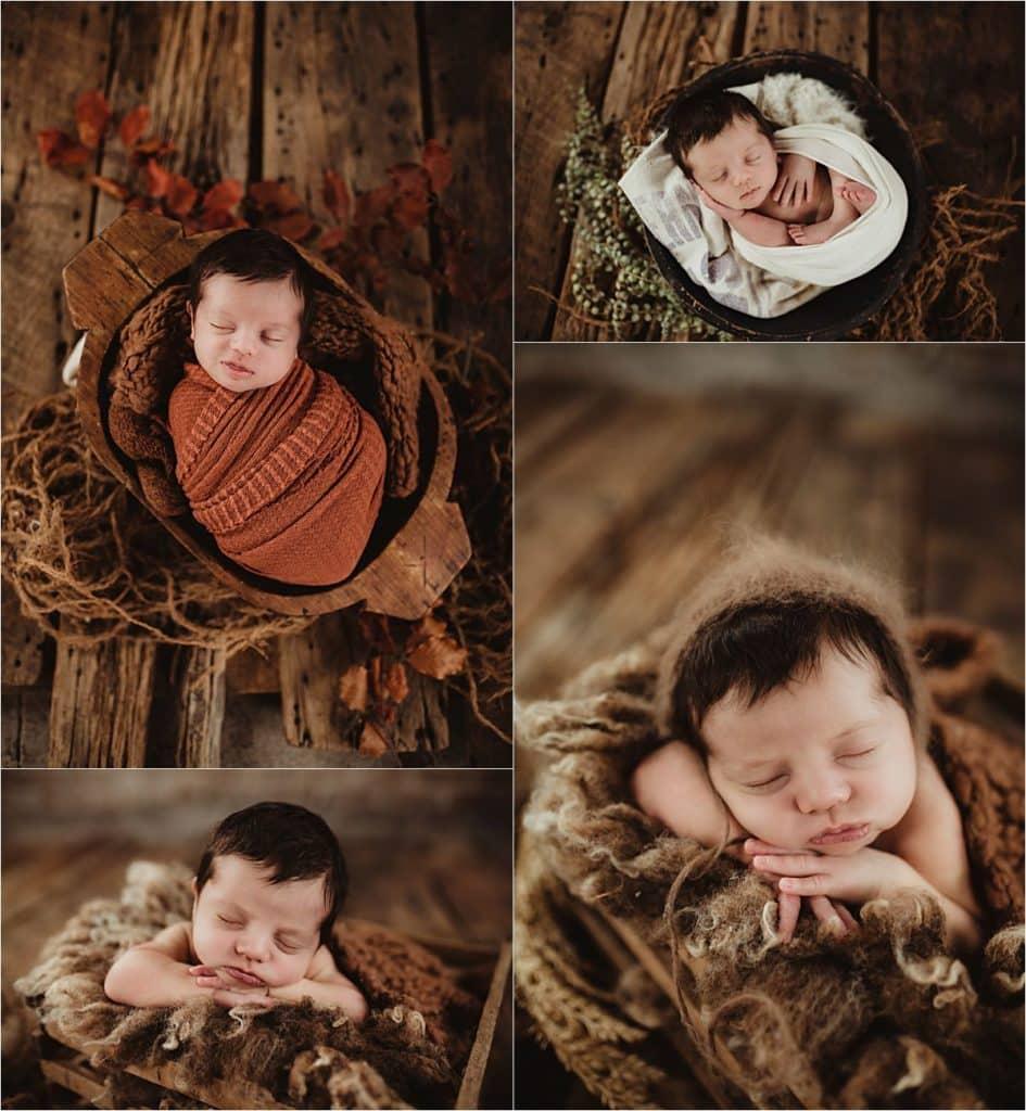 Collage Newborn Boy