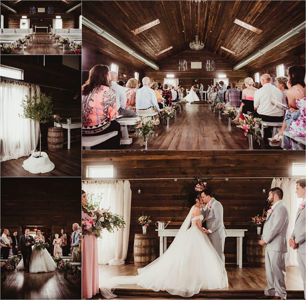 The Fields Reserve Wedding Ceremony