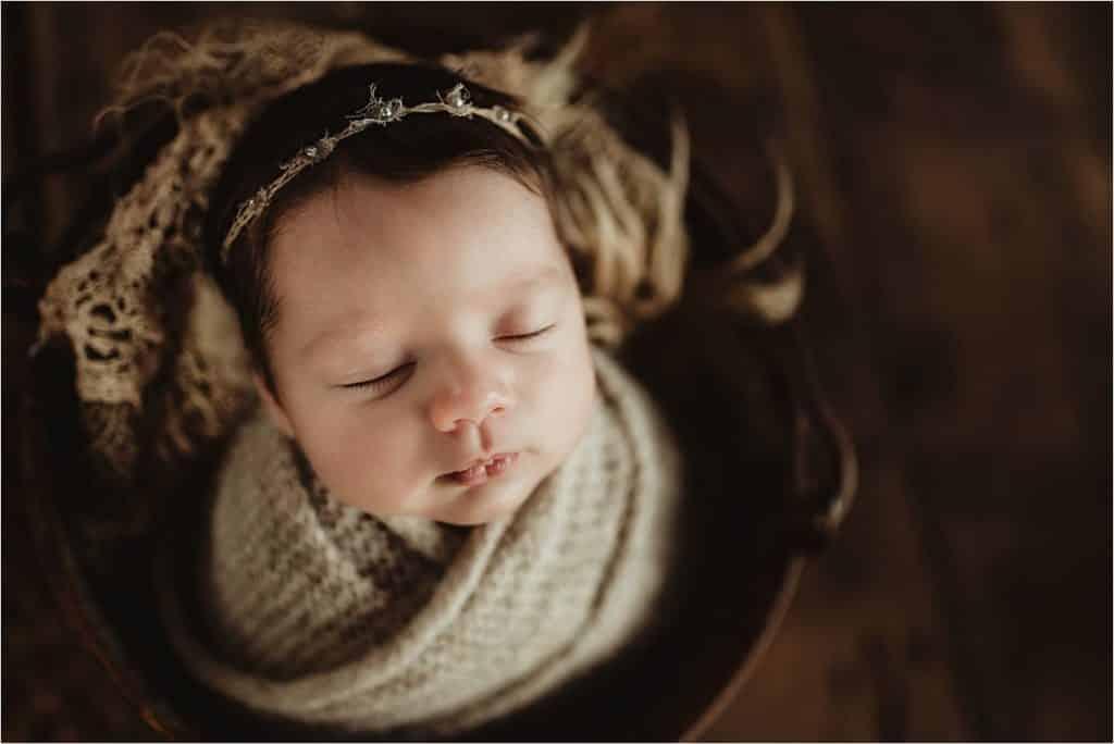 Newborn Girl Portrait Session