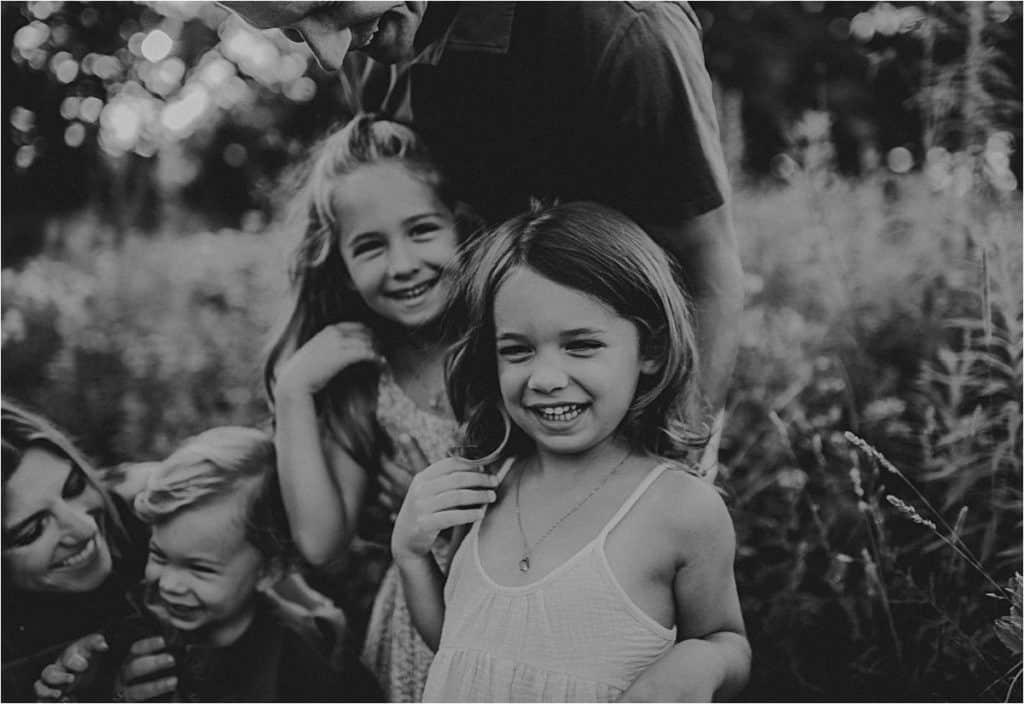 Close Up Little Girls