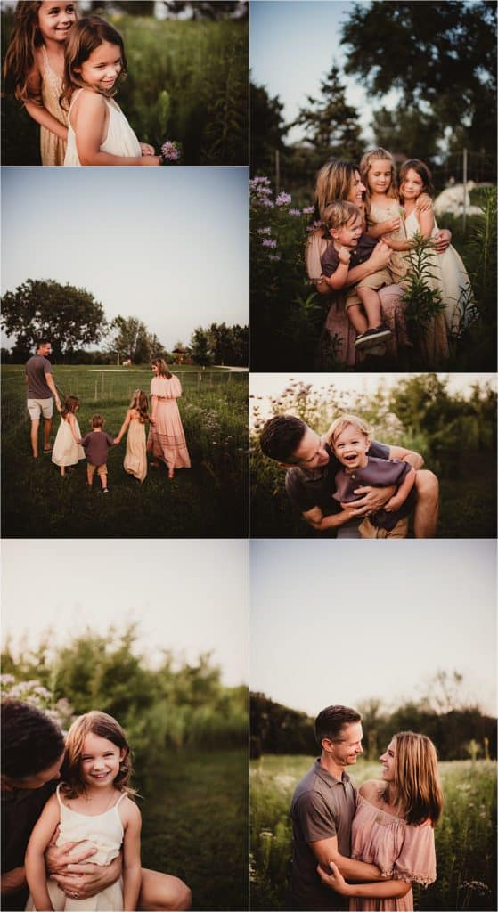 Collage of Family