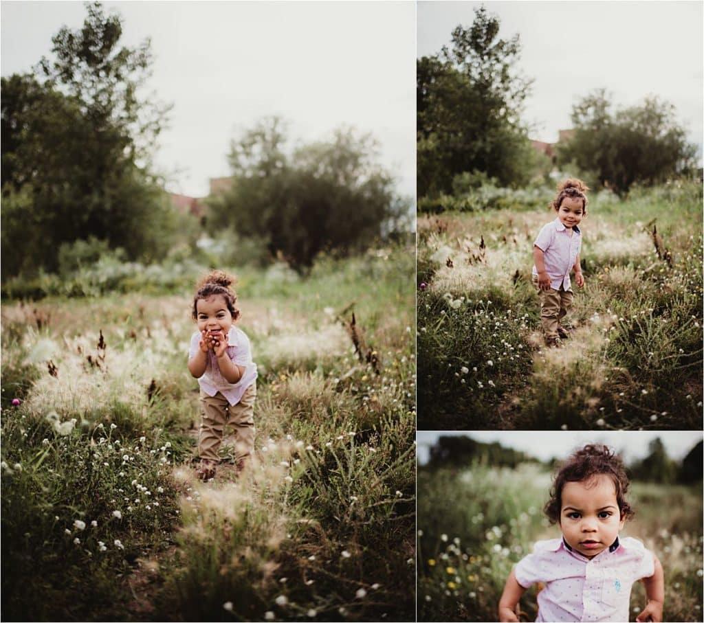 Little Boy in Field