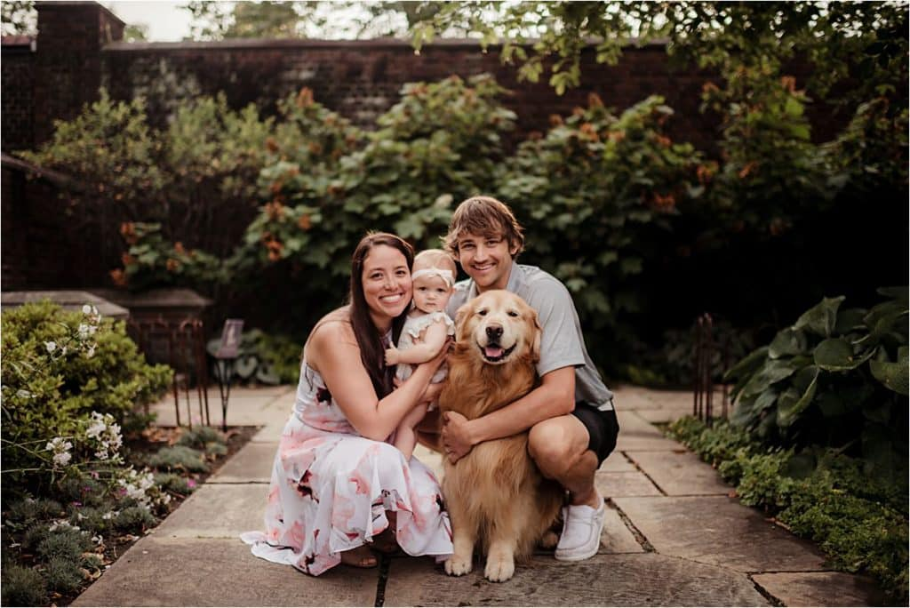 Family with Dog Session