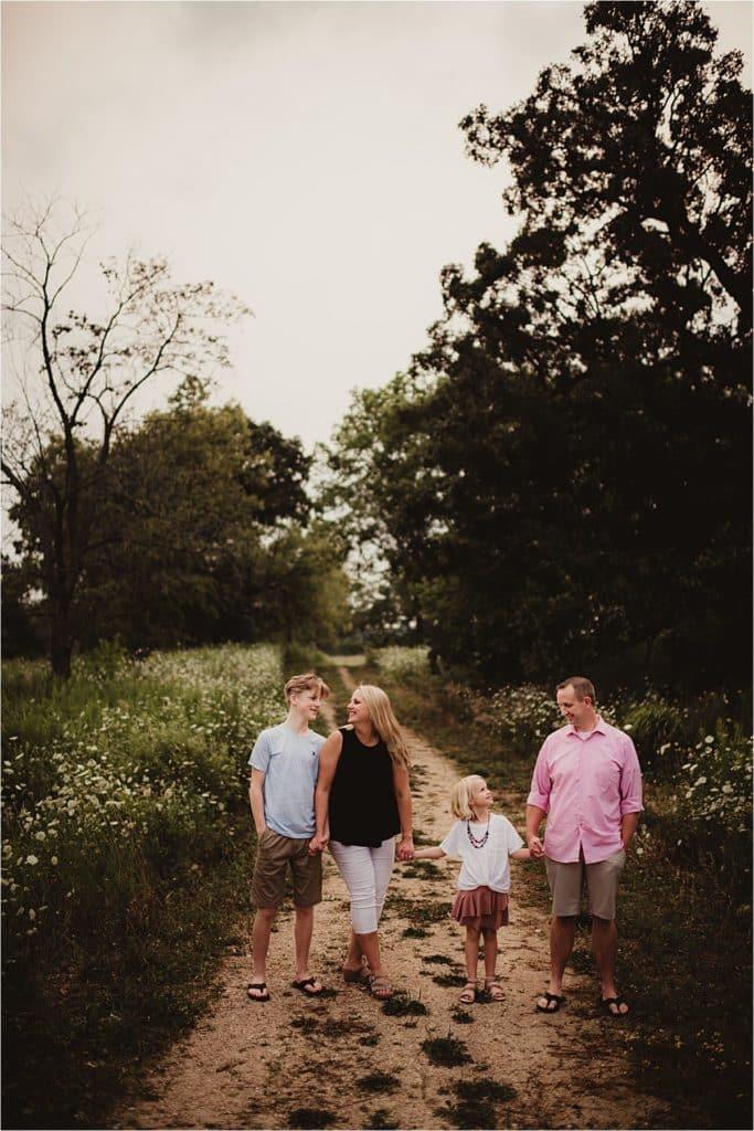 Favorite Session Image Family Walking Smiling