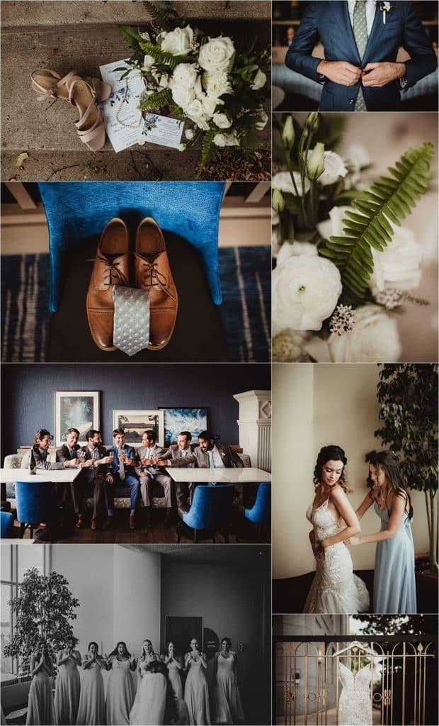 Monona Terrace Summer Wedding Getting Ready Details