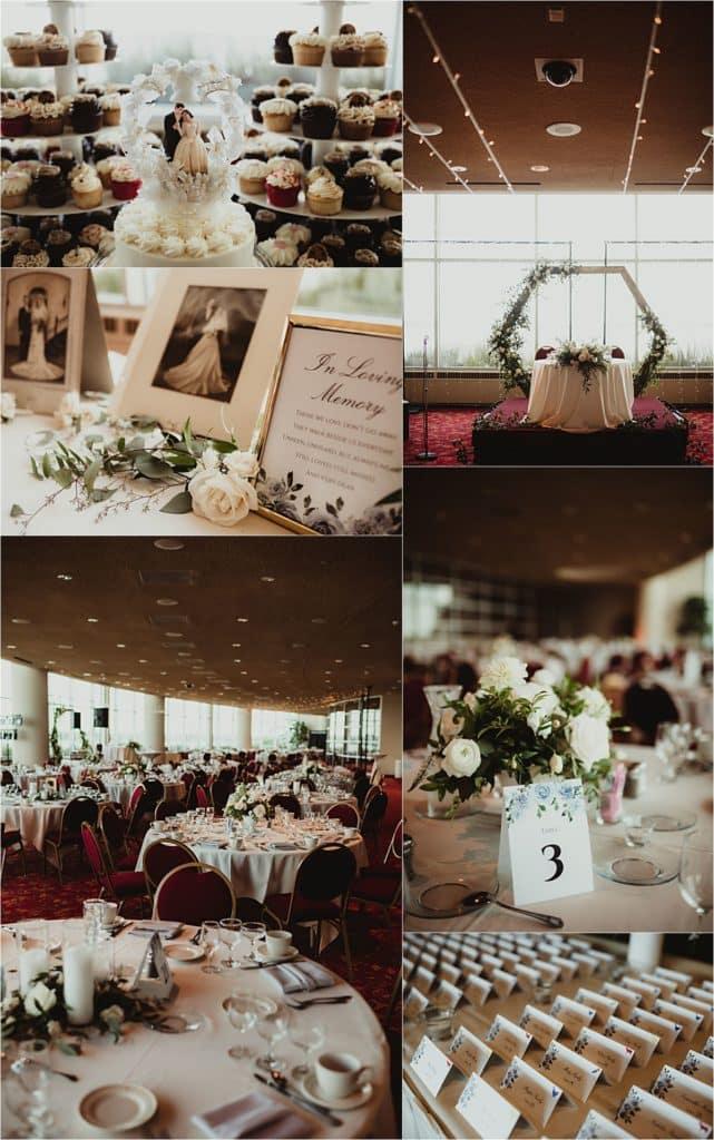 Monona Terrace Summer Wedding Reception Details