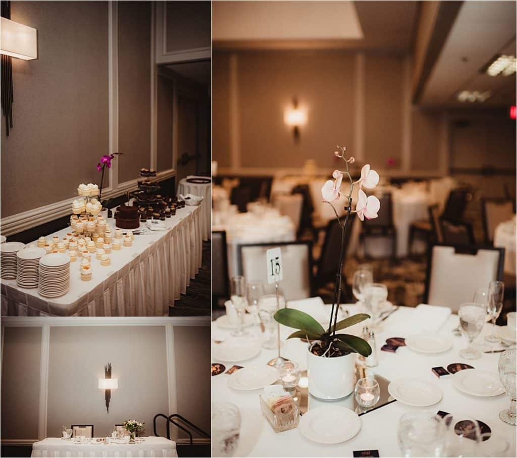 Summer Wedding Reception Details